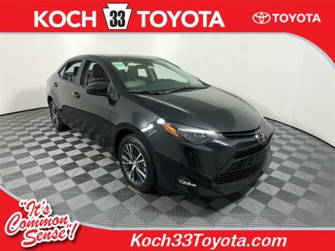 New 2019 Toyota Corolla LE FWD 4D Sedan
