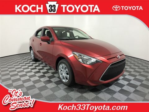 New 2019 Toyota Yaris L FWD 4D Sedan