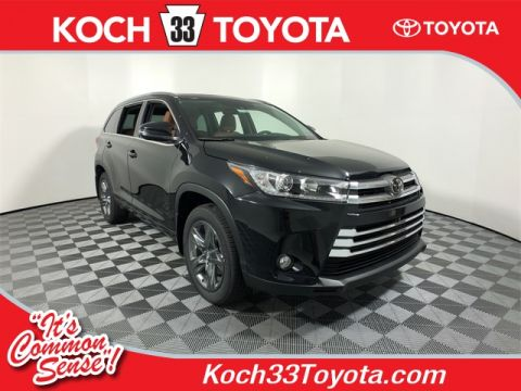 New 2018 Toyota Highlander Limited Platinum 4D Sport Utility AWD