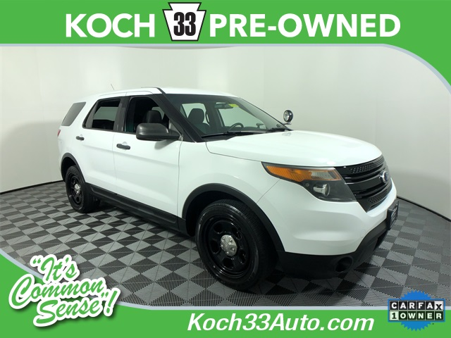 Pre-Owned 2014 Ford Explorer Utility Police Interceptor