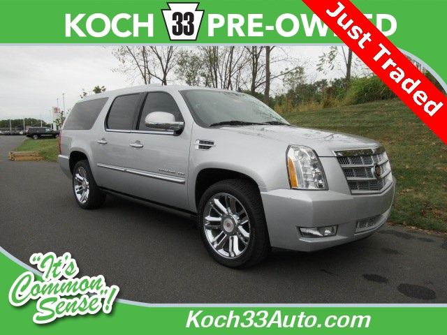 Pre-Owned 2014 Cadillac Escalade ESV Platinum Edition
