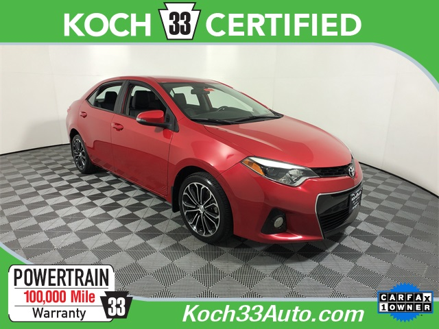 Pre Owned 2016 Toyota Corolla S