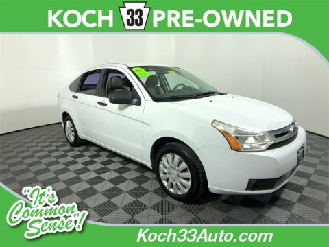 Pre-Owned 2008 Ford Focus S