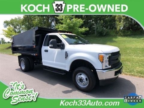 Pre-Owned 2017 Ford F-350 DUMP TRUCK XL