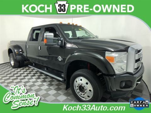 Pre-Owned 2015 Ford F-450SD Platinum