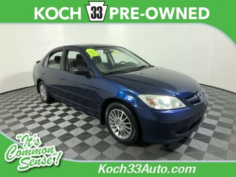 Pre-Owned 2005 Honda Civic LX