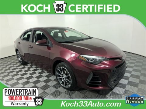 Pre-Owned 2017 Toyota Corolla 50th Anniversary Special Edition