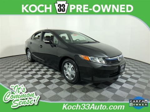 Pre-Owned 2012 Honda Civic Hybrid