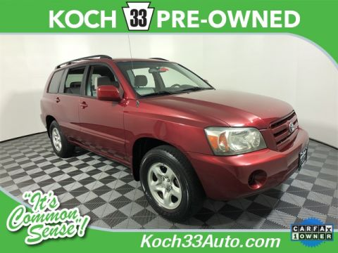 Pre-Owned 2004 Toyota Highlander Base